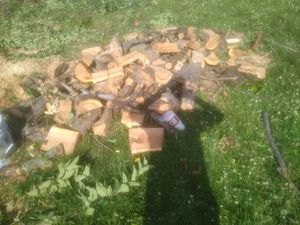 Apple wood for your cookout Delivery available {contact info removed} for Sale in Lansing, KS