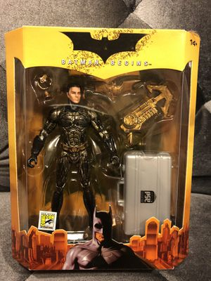 2005 SDCC Comic Con Exclusive Batman Begins *Unmasked* Bruce Wayne Figure for Sale in Fresno, CA