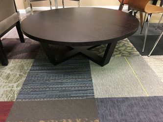 Large new espresso wood coffee table for Sale in Prattville,  AL
