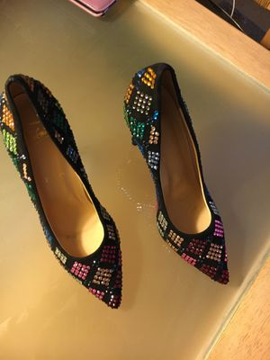 Christian Louboutin sequin heels size 5.5 for Sale in Los Angeles, CA