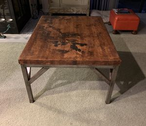 Industrial Heavy Coffee Table for Sale in Eustis, FL