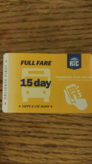 15 DAY BUS PASS-CHEAP! for Sale in Las Vegas, NV