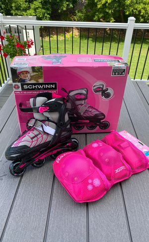 Inline Skates IN BOX Adjustable Girls Sizes 5-8 for Sale in Maple Grove, MN