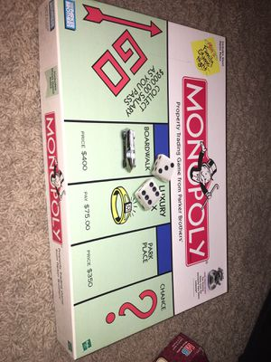 Monopoly Board Game for Sale in Austin, TX