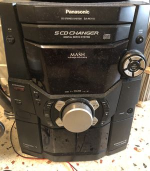Panasonic Stereo System SA-AK110 CD Disc Cassette Player Stereo Radio Bass for Sale in HALNDLE BCH, FL
