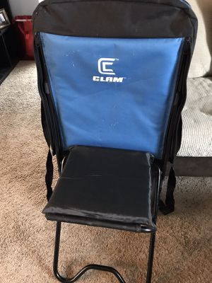 Clam Ice Fishing Chair for Sale in Broomfield, CO