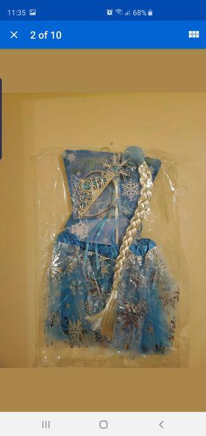Frozen princess Elsa Tutu Dress Birthday Halloween for Sale in New Brunswick, NJ