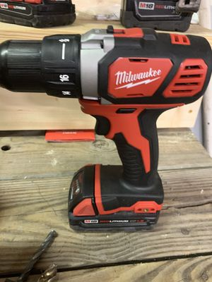 Milwaukee drill in battery for Sale in Acworth, GA