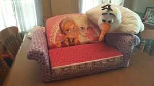 Frozen pull out couch and pillow for Sale in Bensalem, PA