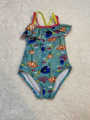 Disney store 4T girls nemo/dory swimsuit for Sale in Houston, TX