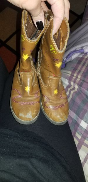Toy Story light up kids cowboy boots sz 10 for Sale in Chino, CA