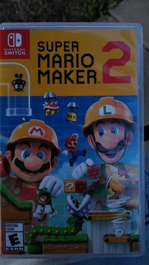Super Mario maker 2 for the nintendo for Sale in Sterling Heights, MI