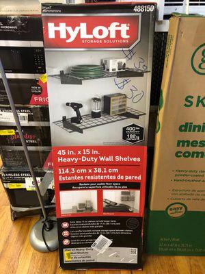 Hyloft Heavy Duty Wall Shelves for Sale in Gastonia, NC