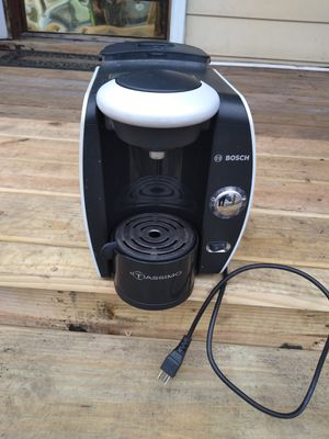 Bosch tassimo T45 coffee maker silver for Sale in Binghamton, NY