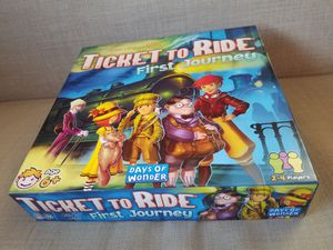 Ticket to Ride: First Journey Kids Board Game for Sale in South Vienna, OH