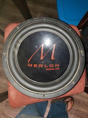 """MERLON 12 """" SUBWOOFER for Sale in Rockport, TX"""