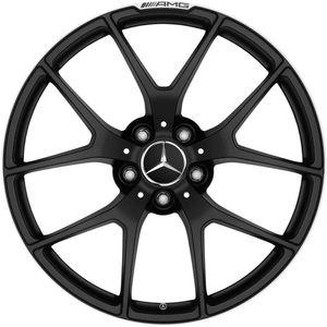 "Mercedes 19"" blk rims tires set for Sale in Hayward, CA"