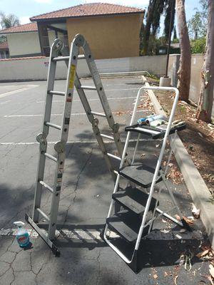 Werner multi purpose ladder $30 for Sale in Westminster, CA