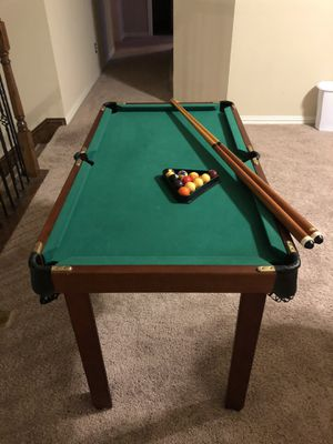 Mini pool table 6 games in one for Sale in McKinney, TX