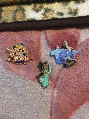 Disney Aladdin Collector's Pins for Sale in Fresno, CA
