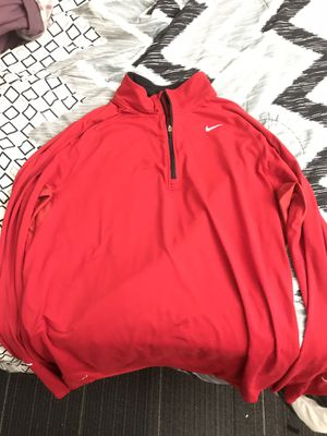 Nike Sri fit running active wear sweater red for Sale in Los Angeles, CA