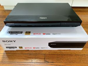 Sony Blue-ray player4k UBP-X700 for Sale in West Carson, CA
