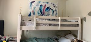 One single Twin bed frame with mattress for sale for Sale in EASTAMPTN Township, NJ