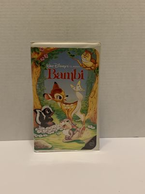 Bambi VHS Movie for Sale in Asheboro, NC