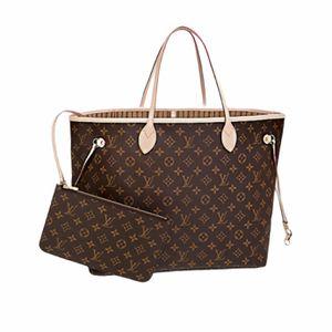 Checkered Leather Neverfull handbag for women for Sale in Kissimmee, FL