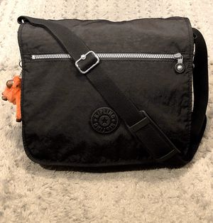 """Kipling Madhouse Messenger Bag paid $95 Like New! Excellent condition no rips, tears or stains. Material: Nylon Size: 16"""" x 14.5"""" x 5"""" Style: Madhous for Sale in Washington, DC"""