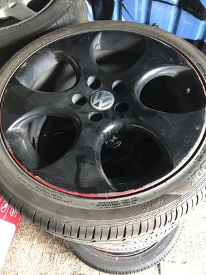 VW stock rims and good tires for Sale in San Jose, CA