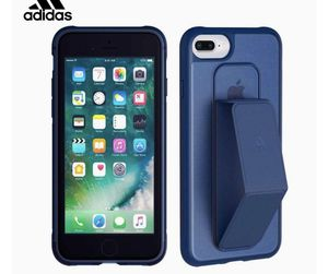 Adidas Performance Grip case for Apple iPhone 8/7/6 Plus Navy Blue for Sale in Los Angeles, CA