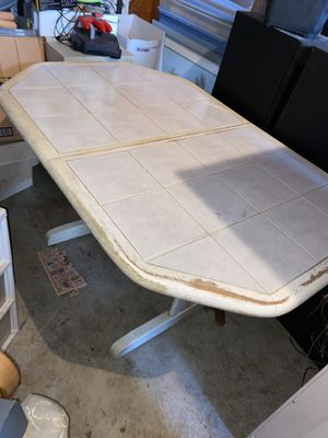 In-Laid Tile Kitchen Table for Sale in Bronxville, NY