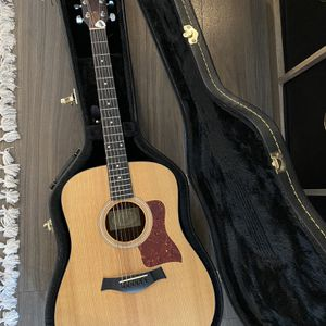 Taylor Acoustic Guitar with hard case for Sale in Oceanside, CA