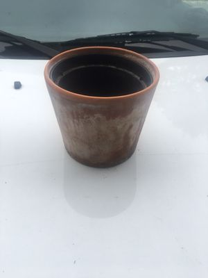 Ikea Medium Clay Pot for Sale in Columbus, OH