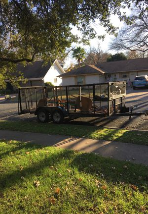 16ft trailer! Has a big lock box in the front. for Sale in Austin, TX