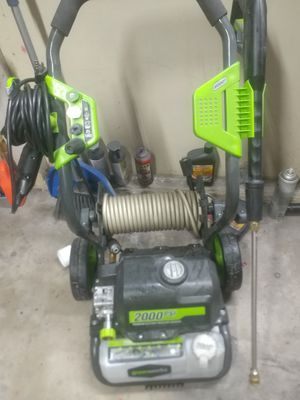 Greenworks 2k psi electric power washer for Sale in Allentown, PA