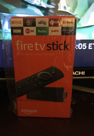 Amazon fire tv stick Alexa for Sale in Glyndon, MD