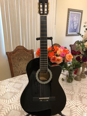 Fever electric acoustic guitar with nylon string for Sale in South Gate, CA