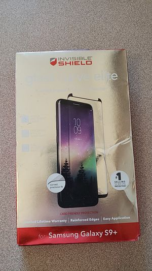Invisible shield glass curve elite for s9+ for Sale in Montezuma, CO