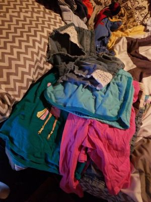 Lots of kids clothes,for sale all items $each, has jeans,shorts shirts,jackets and sizes boys from 6 to 12 and girls 5 to 8 for Sale in Dover, FL