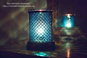 Gorgeous Blue Diamond Faceted Glass Scentsy warmer for Sale in McKinney, TX