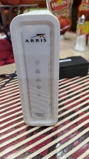 Arris SB6141 cable modem for Sale in Port St. Lucie, FL