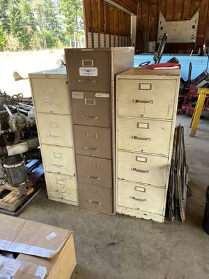 Large filing cabinets for Sale in Buckley, WA