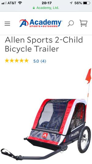 Used one time child bike trailer for Sale in Hiram, GA