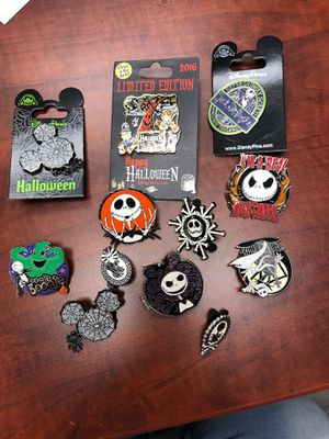 12 Disney Trading Pins Nightmare Before Christmas for Sale in Las Vegas, NV