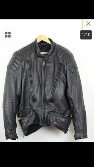 HEAVY First Gear Leather Motorcycle Jacket-Will Meet-See All Pics & Description for Sale in Canal Winchester, OH
