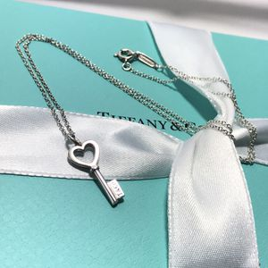 Tiffany&CO small heart key pendant necklace for Sale in St. Cloud, FL