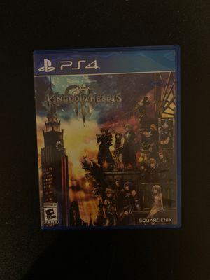 Kingdom Hearts 3 for PS4 for Sale in Rancho Cucamonga, CA