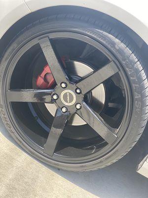 20 inch Strada Rims/Atlas tires for Sale in Oxnard, CA
